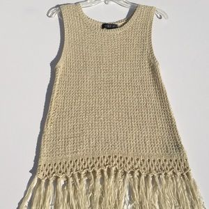 August Silk Sleeveless Sweater
